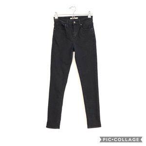 Levi's 721 High Rise Skinny Black jeans size 26